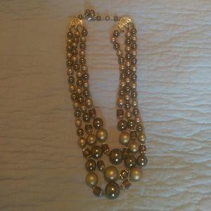 Jewelry - Triple strand  necklace