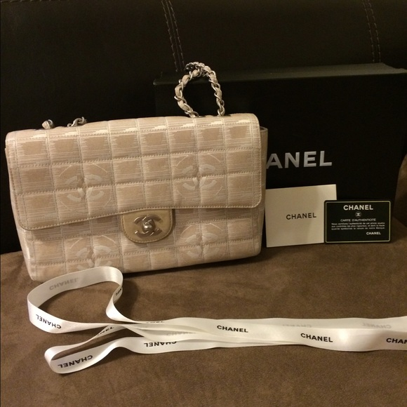 8c19773b3ad CHANEL Bags   Travel Line In Beige   Poshmark