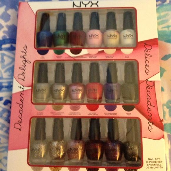NYX Nail Polish From Samantha's Closet
