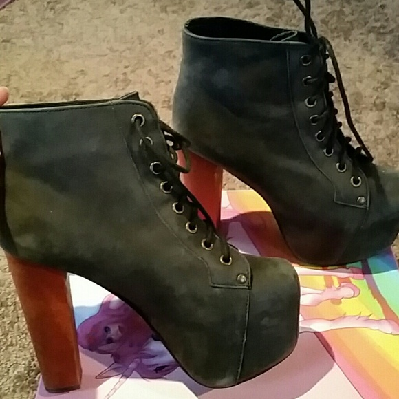 50 off jeffrey campbell shoes jeffrey campbell litas booties from randi 39 s closet on poshmark. Black Bedroom Furniture Sets. Home Design Ideas