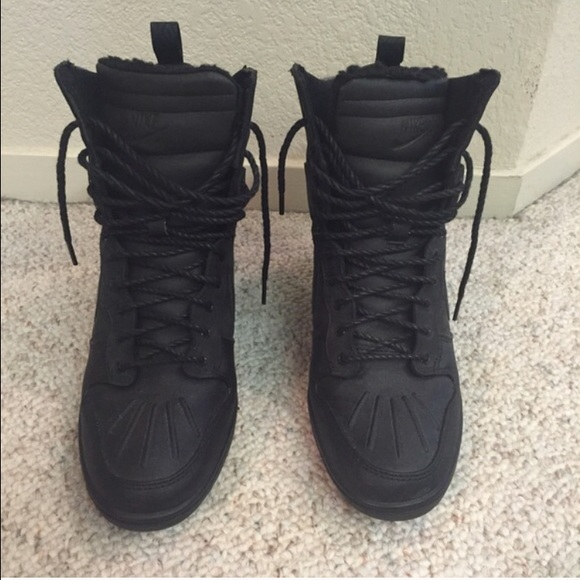 50 nike shoes nike dunk sky high wedge boots from