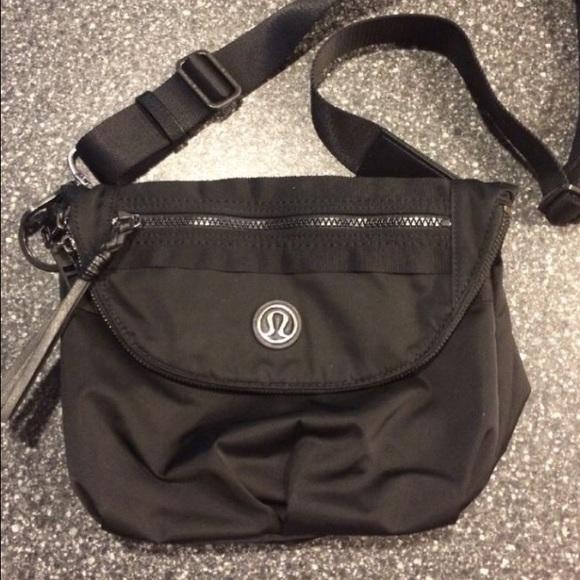 cf8ada6f0254 lululemon athletica Handbags - ISO lululemon festival bag In black