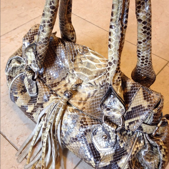 Real Snake Skin Made In Italy