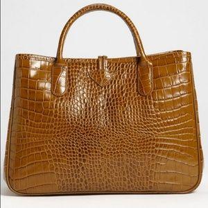71e431b03b1 Longchamp Bags - 💖HP💖 Longchamp Croc-Embossed Roseau Tote✨✨