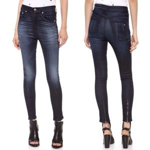 NWT rag & bone high waisted skinny jeans