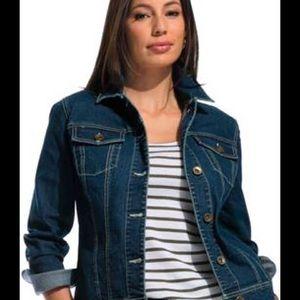 Jackets & Blazers - Jean Jacket plus size 3X New! Great all year long!