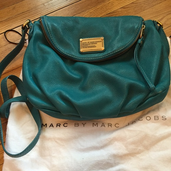 84555103c5af Classic Q Natasha cross body in teal. M 556e32c9713fde3f63018b1e. Other Bags  you may like. Marc by Marc Jacobs Blue Leather ...