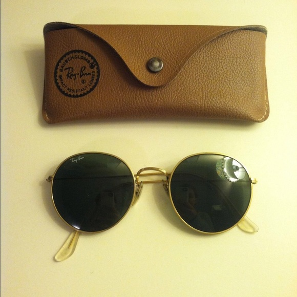 ray ban lennon  Ray-Ban - HOLD Ray Ban Lennon Round Sunglasses VINTAGE from ...