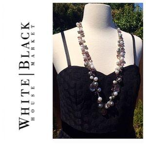 White House Black Market Dresses & Skirts - Polka Dot Dress by WHBM