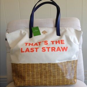That's the Last Straw tote