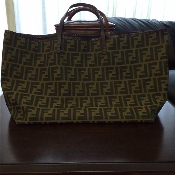 FENDI Bags   Vintage Tote   Poshmark edfb33a11a