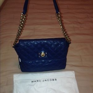Marc Jacobs Large Single Leather Shoulder Bag