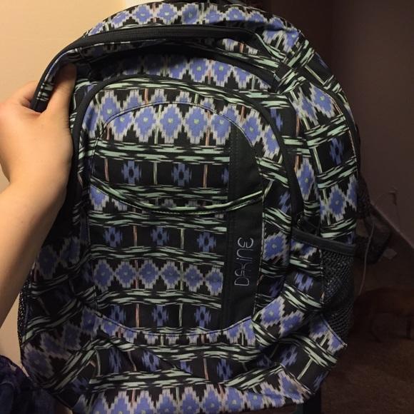 58% off Dakine Other - Tribal print dakine backpack from Jordan's ...