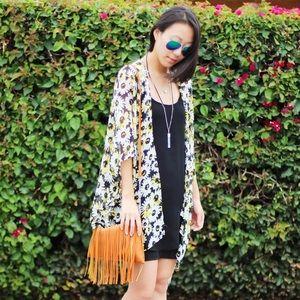 Jackets & Blazers - Daisy Sheer Kimono Cardigan Wrap