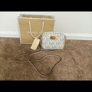 New Michael kors sig Hamilton small crossbody bag