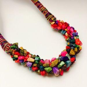 MaisOnLaRochelle Jewelry - Mixed Semi-precious stones necklace