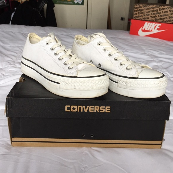 9c12e8ee4207 Converse Shoes - Women s Converse All Star Lo Platform Sneakers