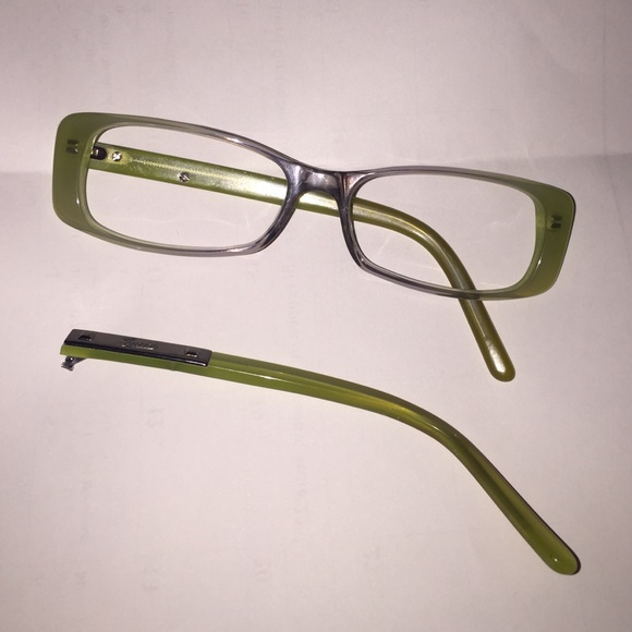 Frame Broke On Glasses : 96% off Gucci Accessories - Gucci green eye glass frames ...