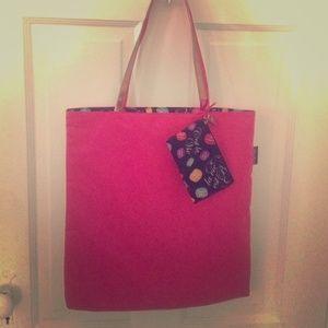 Lancome Handbags - Lancôme reversible tote