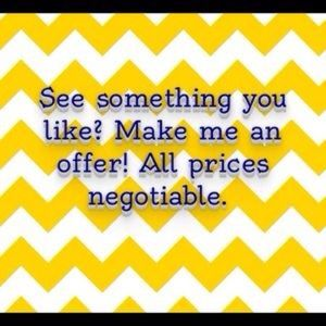Make offers!