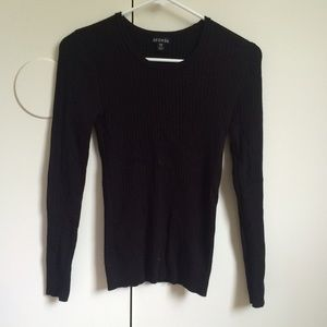 George Sweaters - Black knit sweater