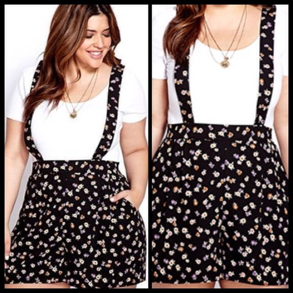 1ab45136f7e7 Forever 21 Dresses   Skirts - Forever 21 plus size romper jumpsuit overalls