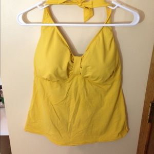 like new lands end TANKINI halter top