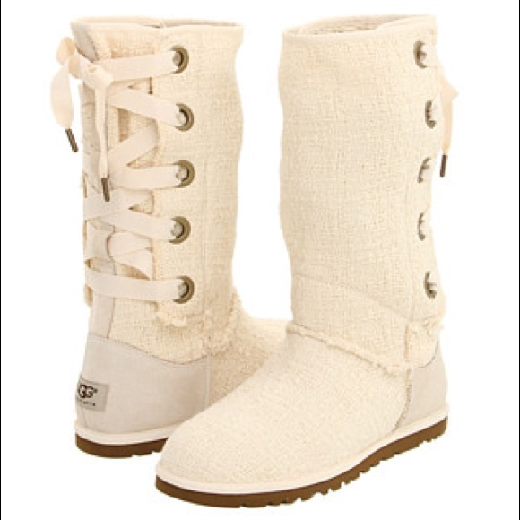 848dec6775a Lace Up Heirloom Ugg Boots