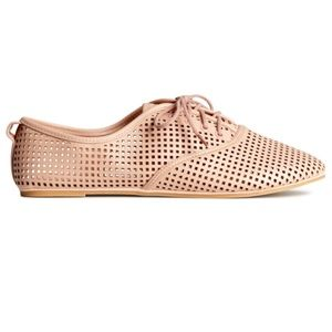 H&m pink oxfords