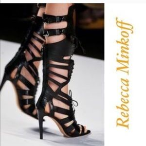 Rebecca Minkoff Gladiator sandal stiletto NEW