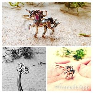 Jewelry - Unicorn stackable ring