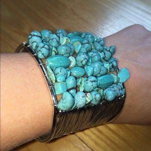 Amazing turquoise cuff bracelet