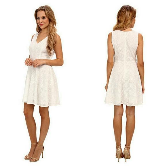 74% off BB Dakota Dresses &amp- Skirts - BB Dakota White Millard ...