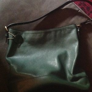 Forest green Kate Spade Saturday Hobo