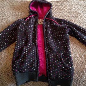 Jackets & Blazers - Polka dot sweatshirt