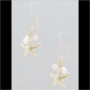 Hannah Beury Jewelry - 🍉 Pink Starfish Earrings