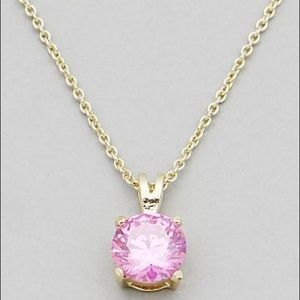 Hannah Beury Jewelry - 🍉 Pink Stone Necklace