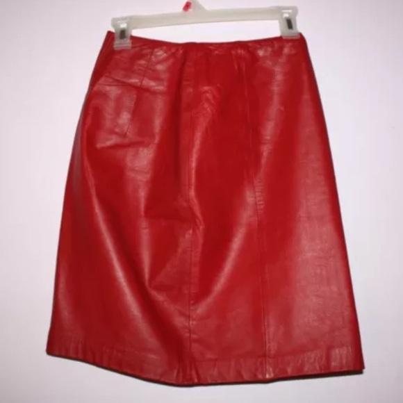 50 wilsons leather dresses skirts vintage 1980s