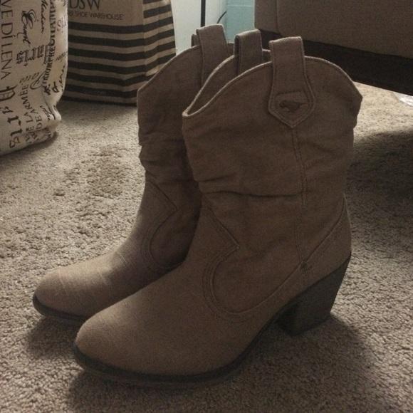 f34dff6d2a8 Fabric cowboy boots