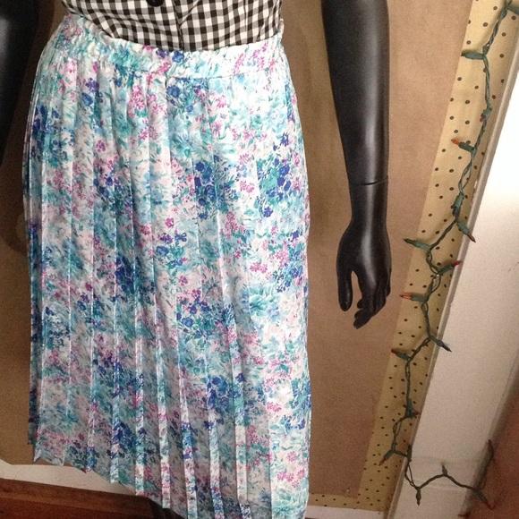 vintage pastel midi skirt from j s closet on poshmark