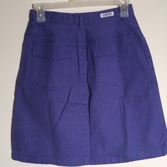 purple high waisted skirt xs from gabrielle s closet on