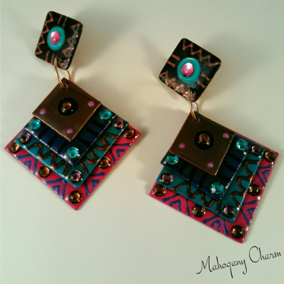 mam earrings 33 mam designs jewelry mam square stacks from tina 9654