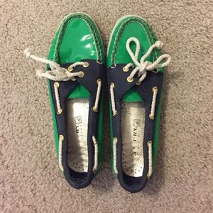 Patent Sperry Boat Shoes