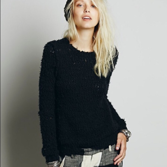 39% off Free People Sweaters - NWT Free People Shaggy Sweater from ...
