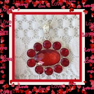 Tiare Hawaii Jewelry - 🌺🌴🌺 BEAUTIFUL RED CRYSTAL NECKLACE 🌺🌴🌺