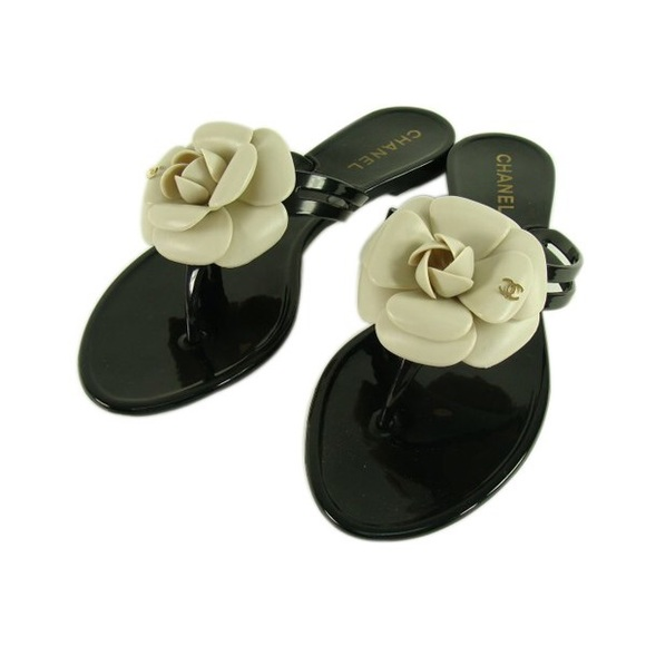 28f397558fc9 New Chanel Camila Flip Flop Sandals size 37