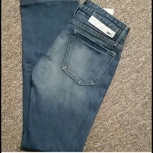 "NWOT earnest sewn ""EARNEST AM I"" boot cut denim"