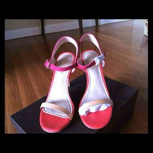 Charles David Colorblock Minimalist Sandals 6