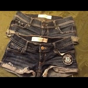 Abercrombie & Fitch denim shorts 2/$18