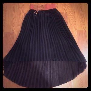 High Low Sheer Skirt !